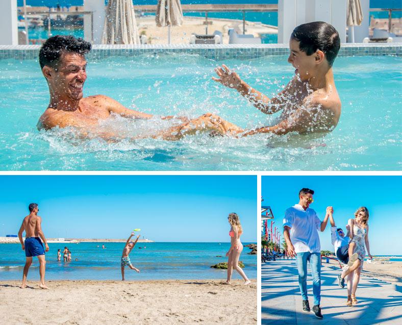 Servicio familiar hotel rh vinar s playa hoteles for Hoteles familiares playa