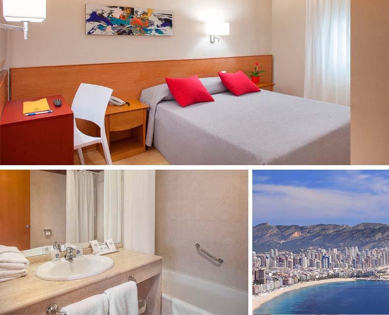 Habitaci n individual hotel rh sol mejor precio garantizado for Precio habitacion hotel