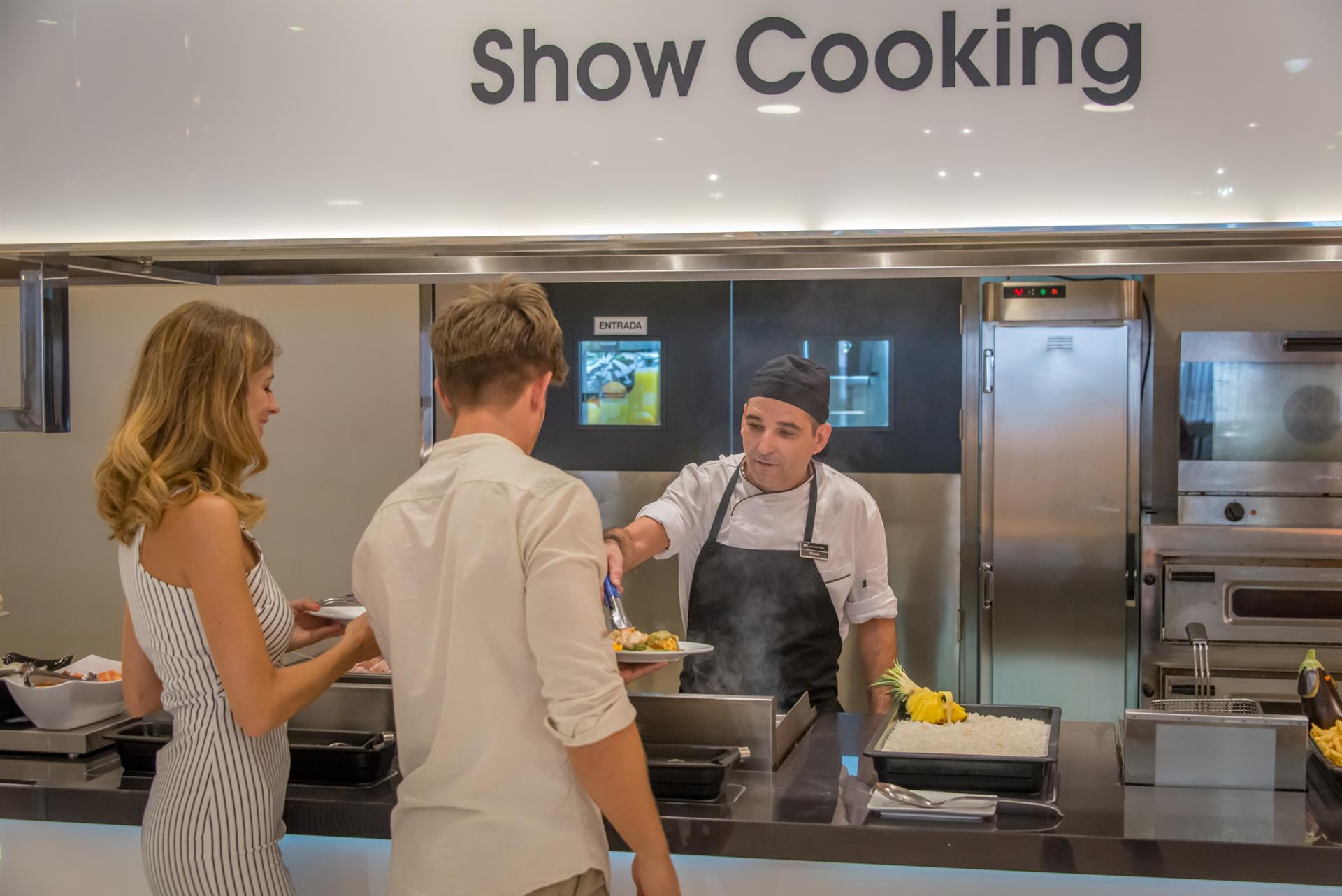Hotel RH Princesa Show cooking